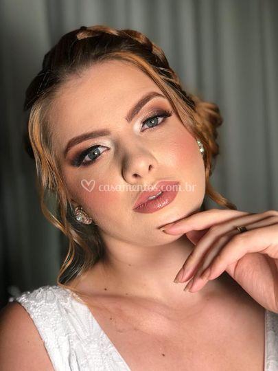 Maquiagem de noiva. Uma paixão