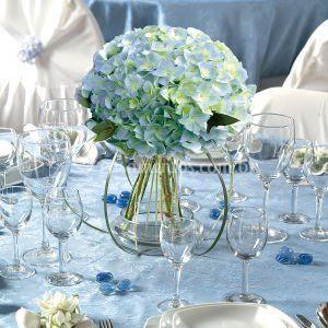 Arranjos da mesa dos convidado