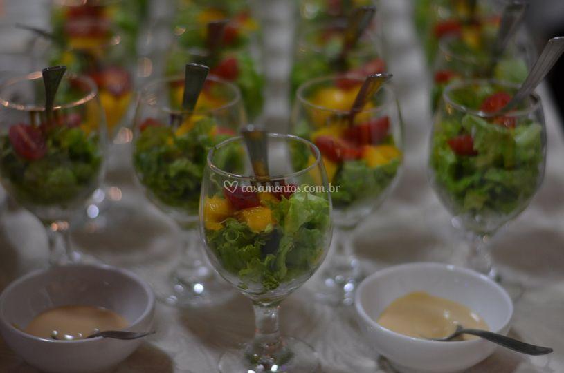 Salada Agridoce na Taça