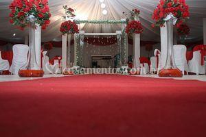 Decoração de cerimônia