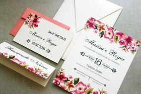 Convite floral especial