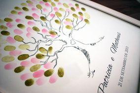 Fingerprint poster árvore