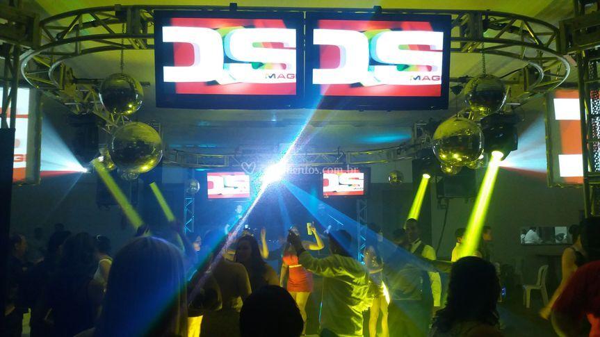 Monitores de pista dança