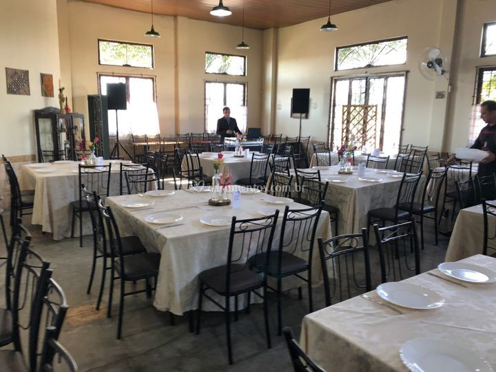 Mesas para 8 lugares