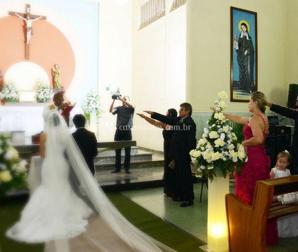 Bênçãos para a noiva e o noivo