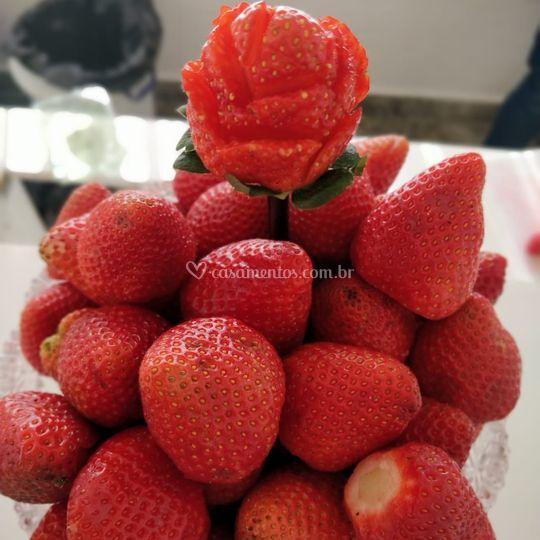 Frutas escolhidas a dedo
