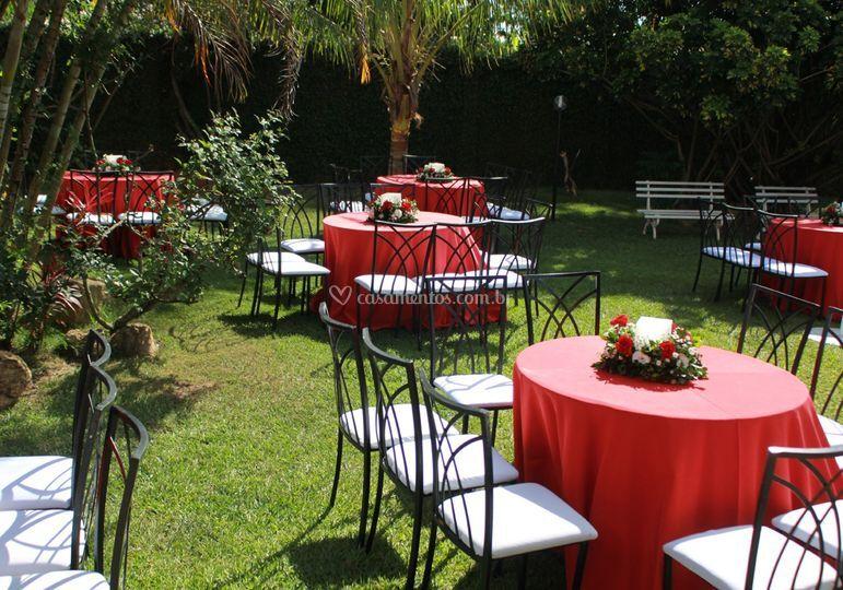 Área de convidados
