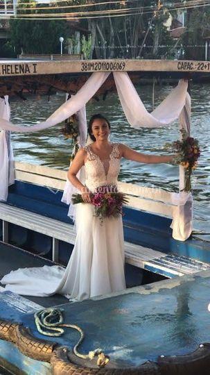 Vestido Noiva Bárbara