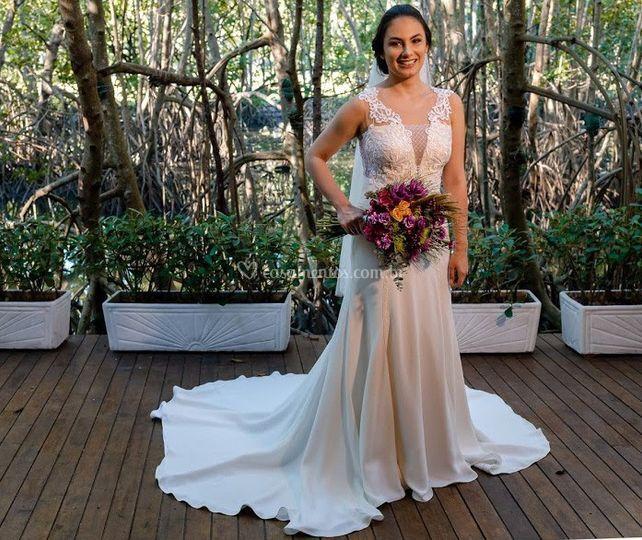 Vestido de Noiva Bárbara