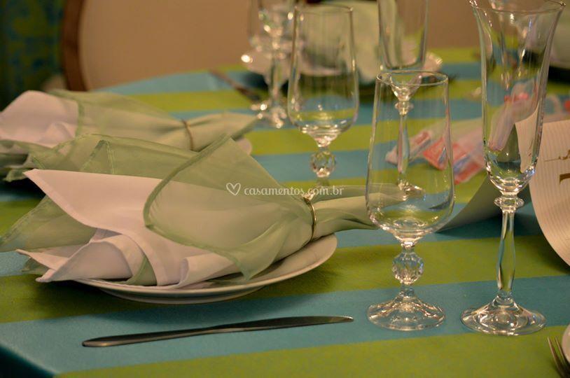 Taças em cristal tcheco