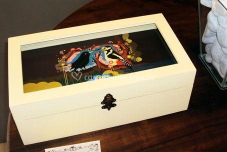Caixa madeira personalizada