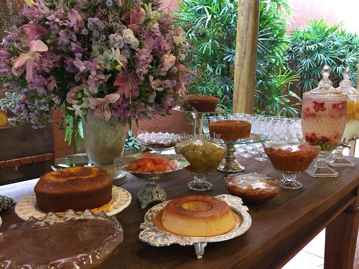Mesa de doce gourmet
