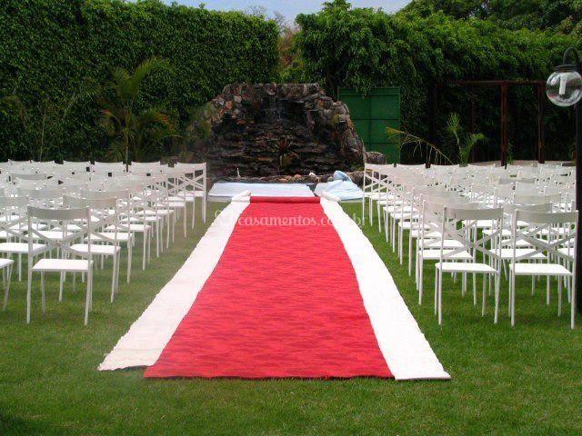 Cerimônia externa diurna