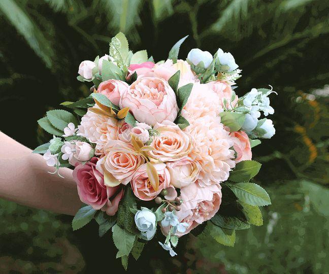 Buquê de noiva Amarante