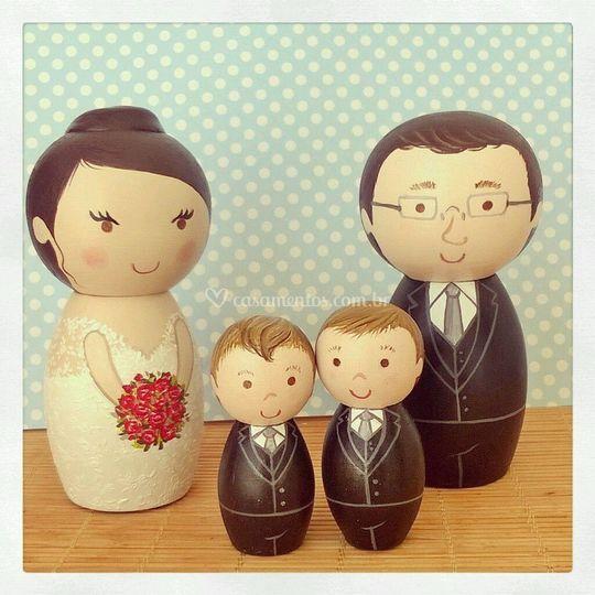 Topo Família Personalizada