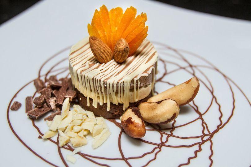 Mini torta trufada