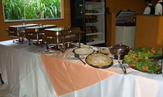 Rechaud para buffet