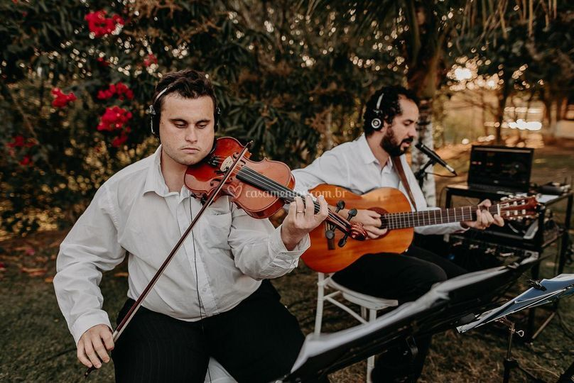 Violao e violino