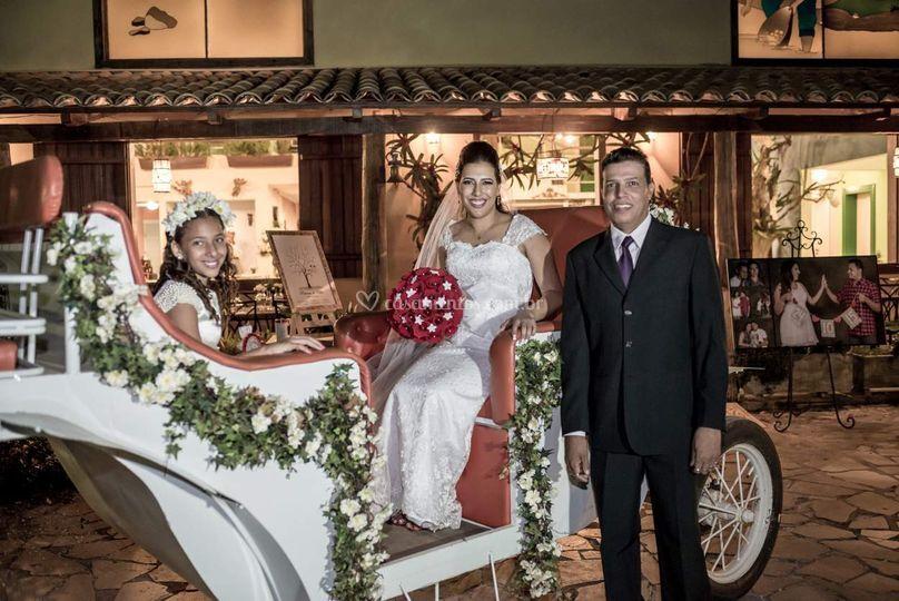 A linda noiva