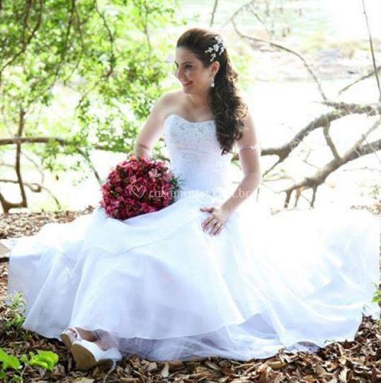 Um passeio com a noiva