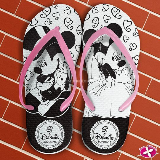 Chinelo Personalizada Mickey