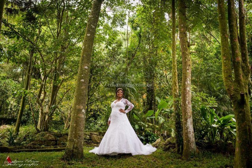 Bosque lengruber e riacho