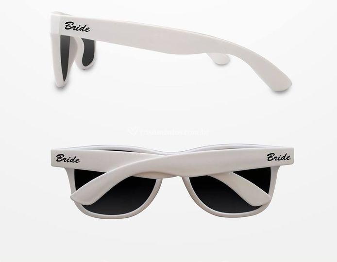 Óculos personalizado branco