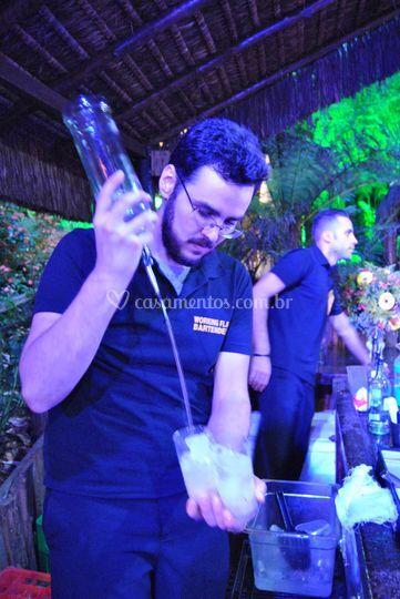 Bartenders performáticos