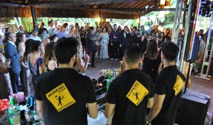 Working Flair Bartenders 1