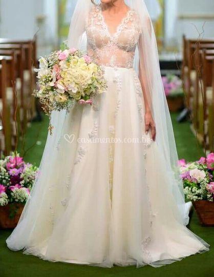 Noiva Romântica Boho Chic