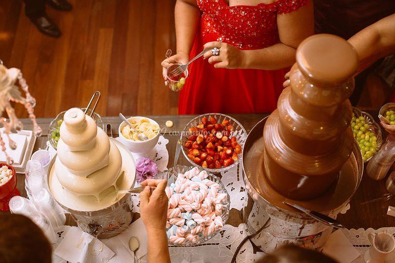 Sabor di Amore Fontes de Chocolate