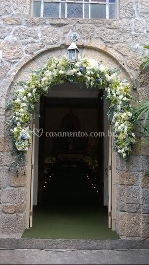 Arco Capela Santa Ignez