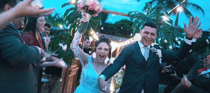 Casamento Celly e Jackson