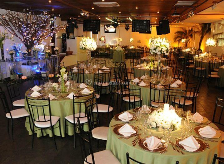 Mesas para convidados