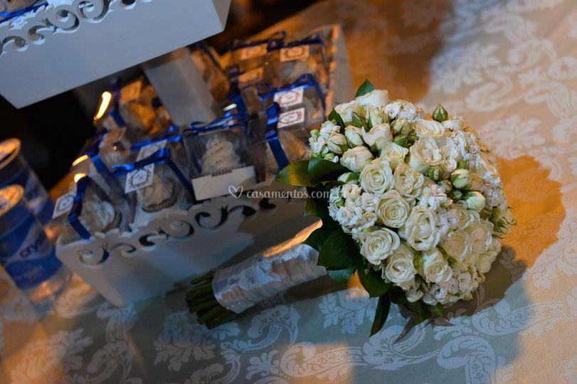 Bouquet noiva branco