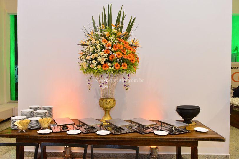Arranjos mesa jantar