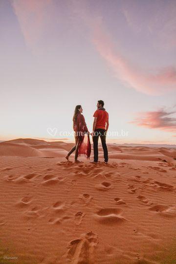 Ensaio em Marrocos