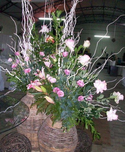 Variedade de flores