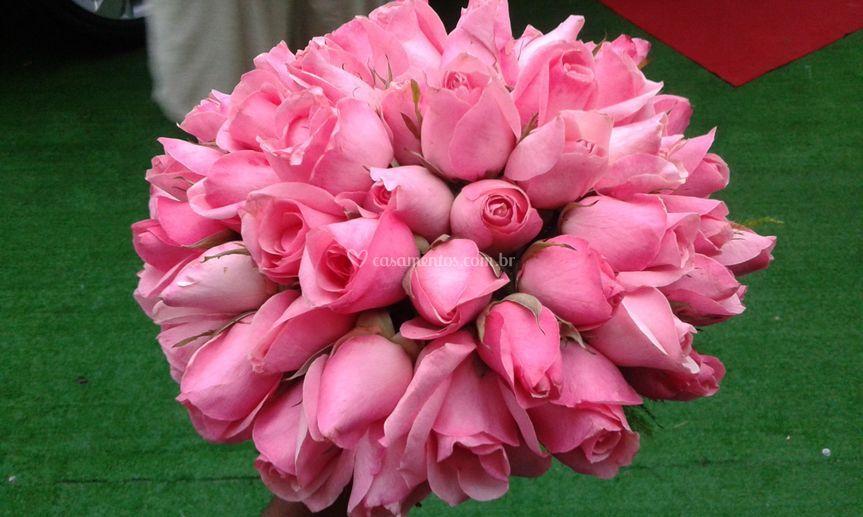 Boquet de flores naturais