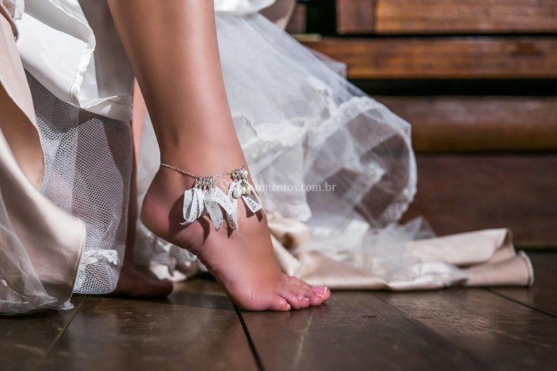 Nome solteiras- tornozeleira