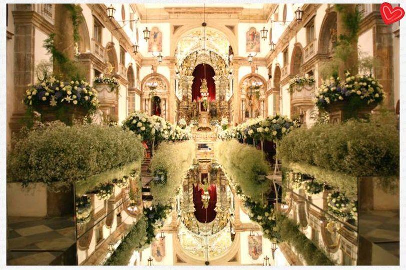 decoracao casamento londrina:Passarela Espelhada Londrina