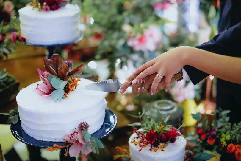 Conjunto de bolos espatulados