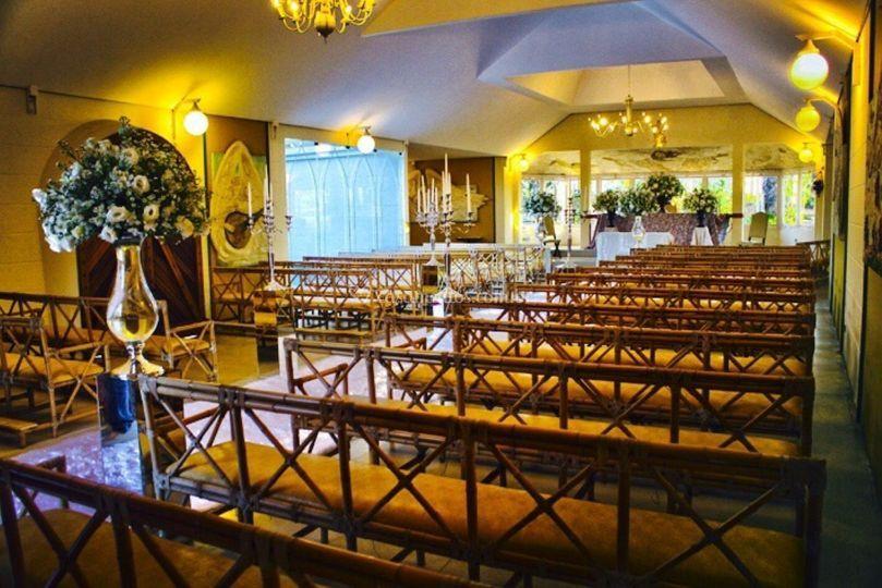 Vista Interior Capela