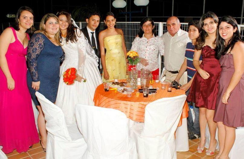 Fotografia do banquete
