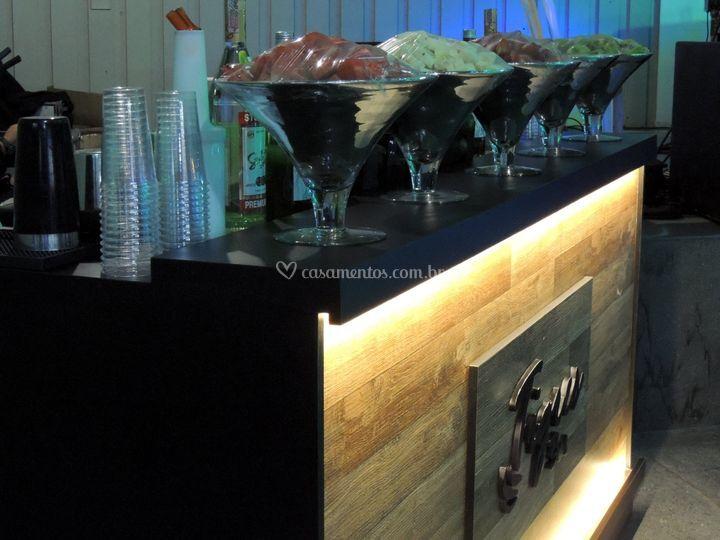 Montagem de Bar
