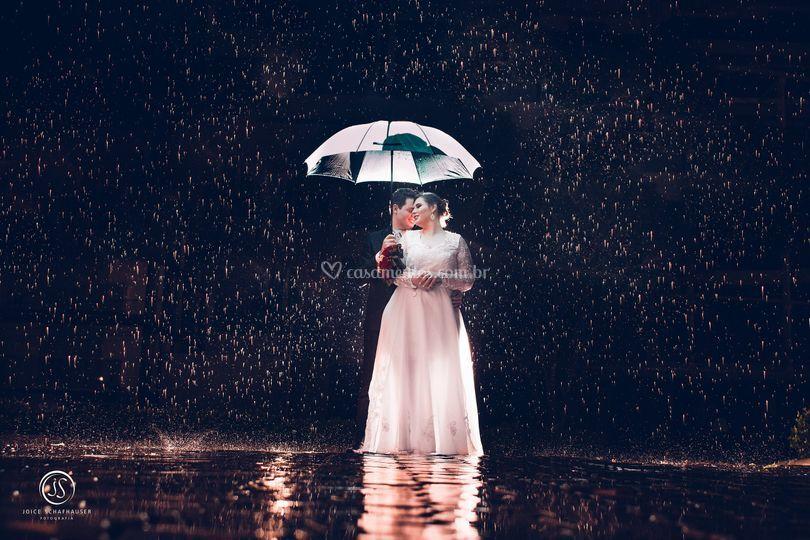 Quem disse que a chuva estraga