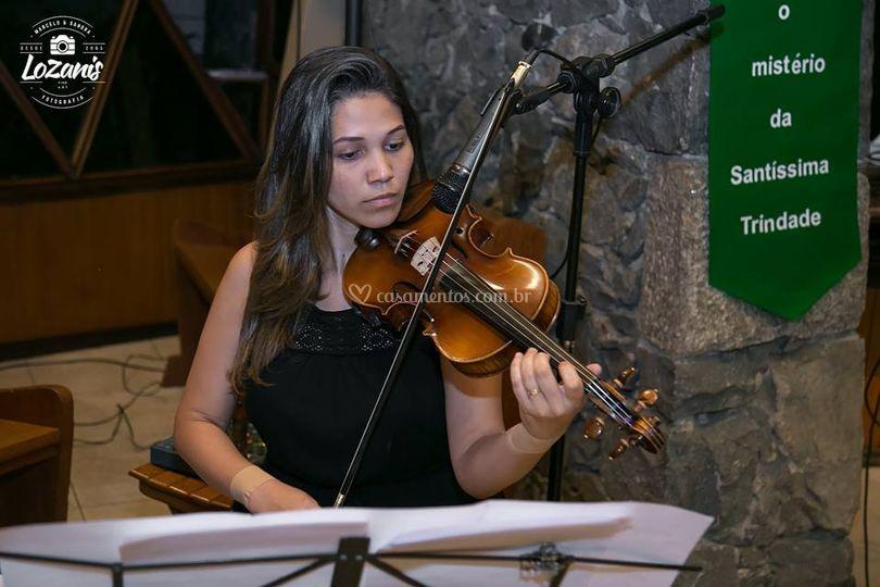 Musical Alamo - violinista