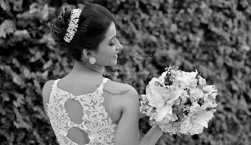 Detalhes da noiva