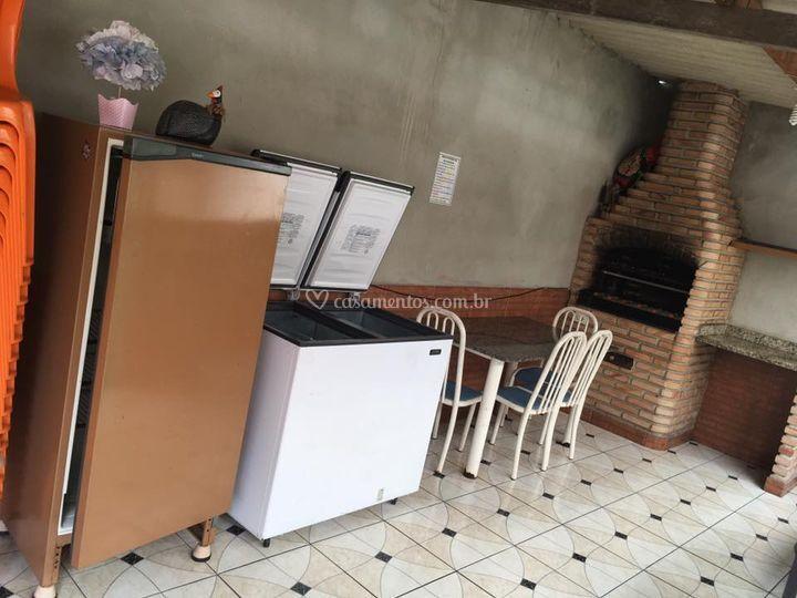 Cozinha/ Churrasqueira