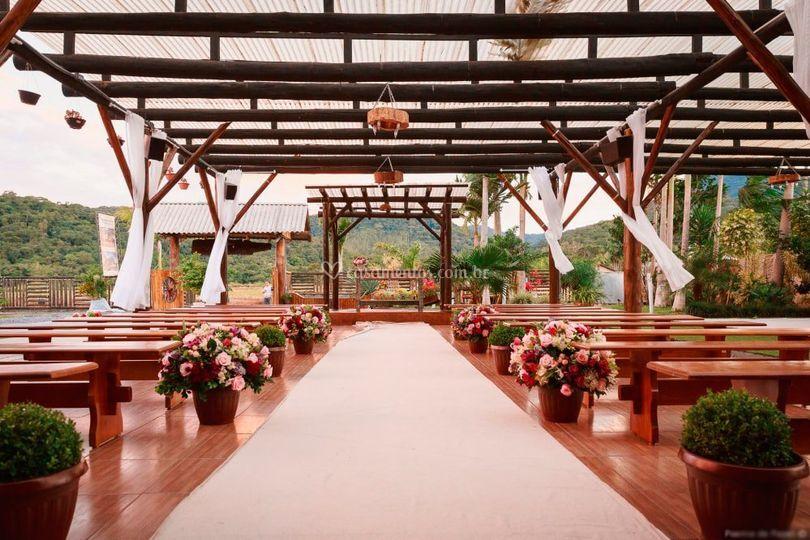 Capela para cerimonia